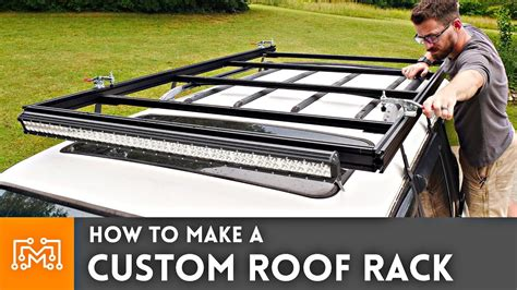 custom roof rack youtube