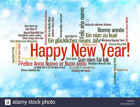 happy new year in language happy new year in many different languages words cloud