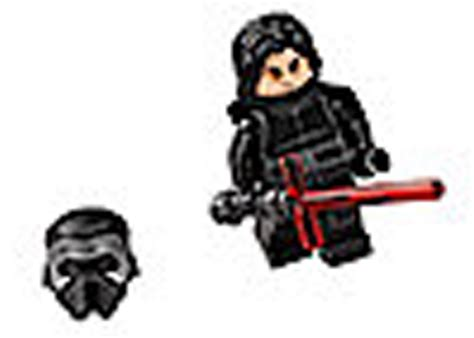 Unmasked Kylo Ren Pg745 Wars Awakens Minifigure Brick lego wars battle on takodana kylo ren unmasked