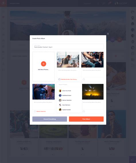 themeforest olympus olympus social network psd template by odin design