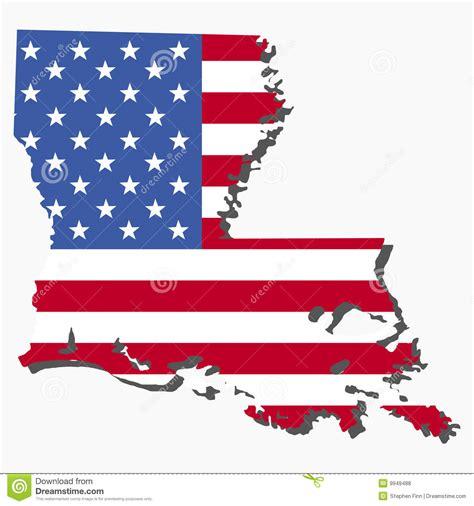 louisiana map flag louisiana map flag royalty free stock photos image 9949488