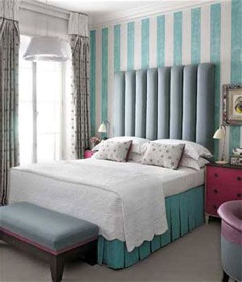 tiffany blue walls bedroom tiffany blue white bedding and striped walls on pinterest