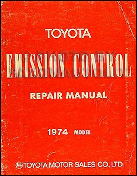 manual repair free 1976 toyota celica electronic valve timing 1974 toyota car pickup emission control manual original
