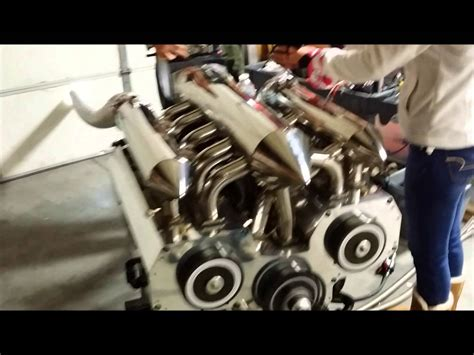 boat engine keeps running 12 rotor engine running different angles youtube