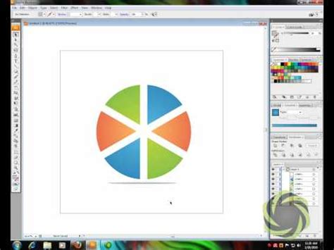 tutorial adobe illustrator cs5 bahasa melayu cross circle logo illustrator tutorial doovi