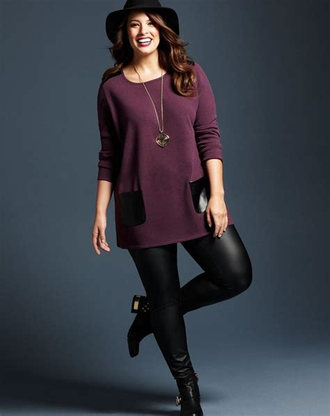 Dress Legging by Plus Size Dress With Pluslook Eu Collection
