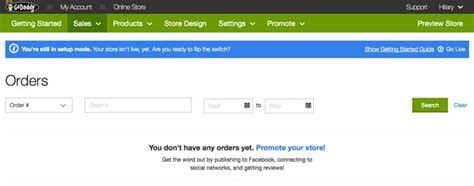 online store themes godaddy godaddy online store review 2017 pros cons of godaddy