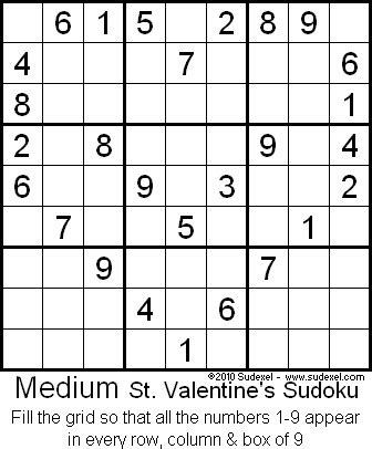 valentines gifts for sudoku puzzle book as a valentines day gift for valentines day gifts for or books sudoku e cards