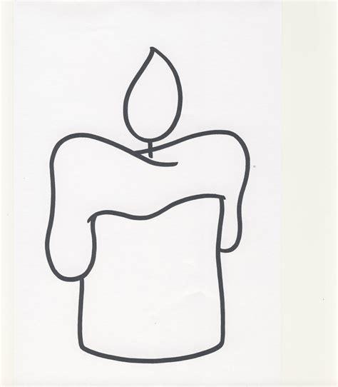 candela da colorare 2 3 anni 2 disegni per bambini da colorare
