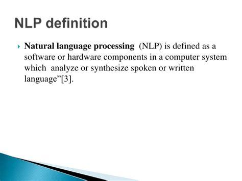 language processing software