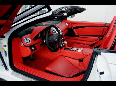mercedes mclaren interior slr roadster 2008 open doors wallpaper mercedes cars 74