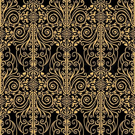 brown royal pattern abstract beautiful background royal damask ornament
