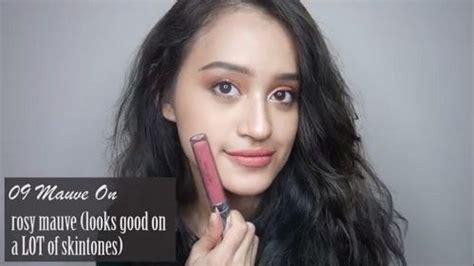 Wardah Lip No 5 review wardah lip using wardah lip no 3 5 8