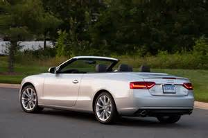 2014 audi a5 cabriolet rear three quarters view photo 05