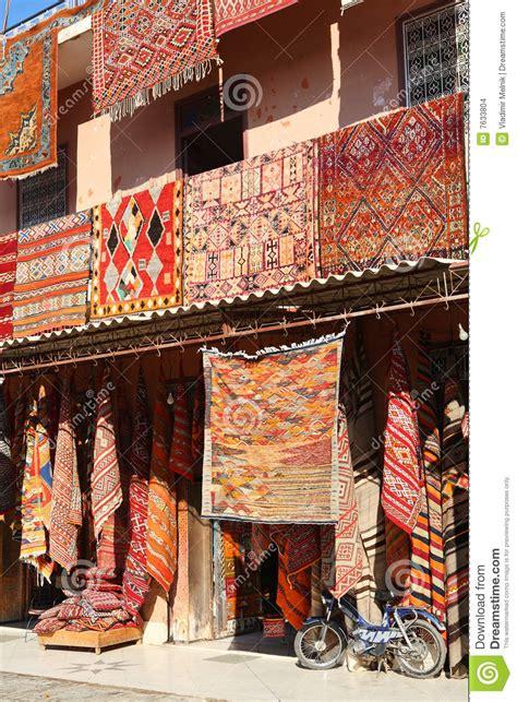 Teppiche Marrakesch by Marokkanische Teppiche Stockbilder Bild 7633804