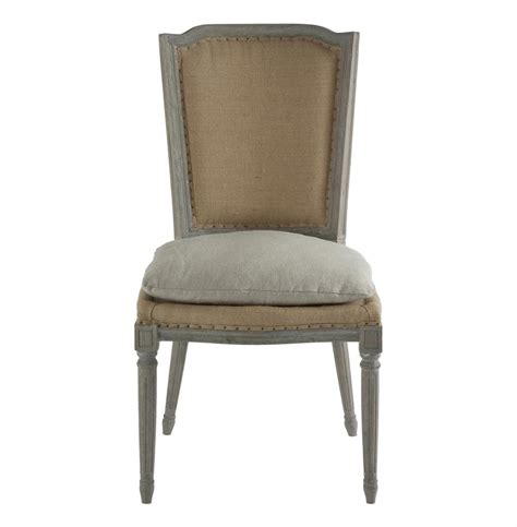 pair ethan french country rustic hemp dining chair