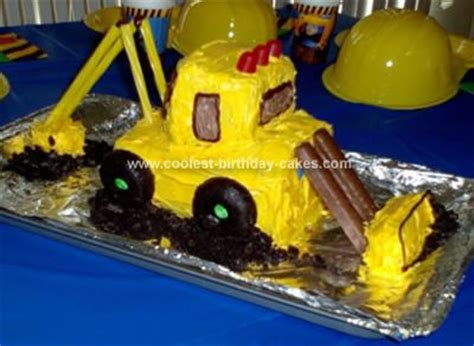 digger cake template excavator cake template images