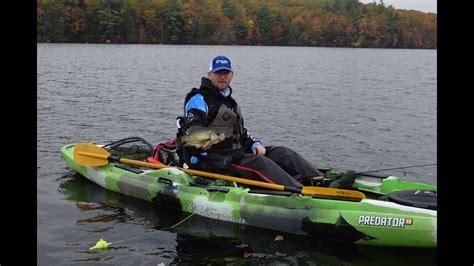 episode   hampshire fall kayak crappie fishing youtube