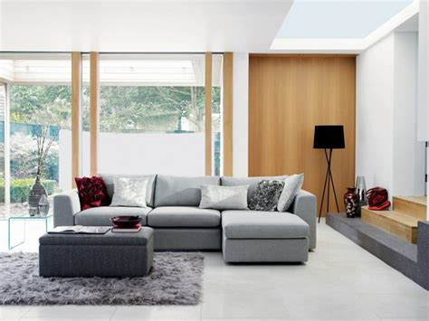 graue lederstühle wohnzimmer italienisches design
