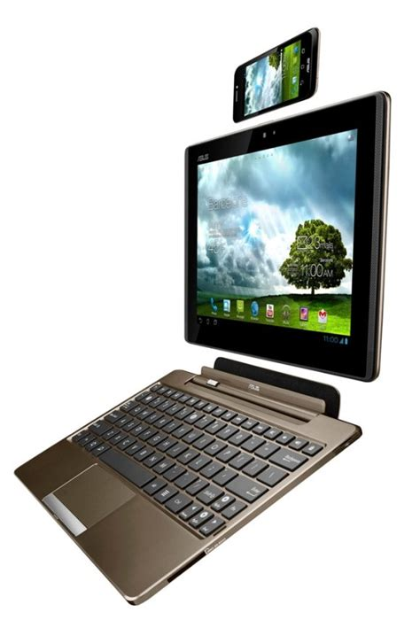 Keyboard Asus Padfone S mwc 2012 asus padfone with smart phone tablet keyboard dock soyacincau