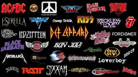 best musical bands classic rock bands of the 80s