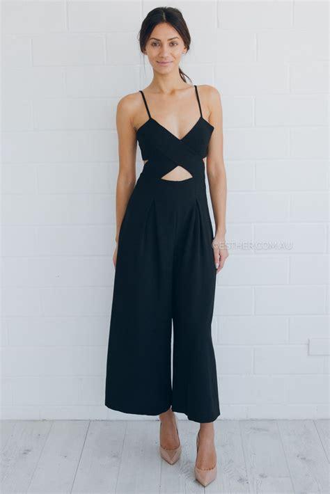 Zara Overall zara jumpsuit black s fashion zara
