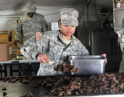army cooks getting credit for kitchen time updated