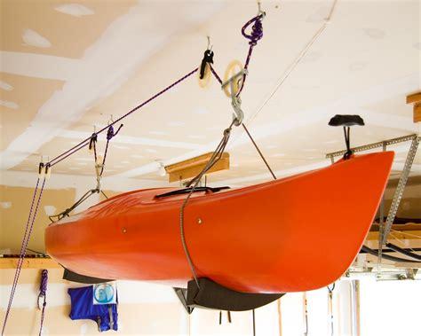 Kayak Racks For Garage Ceiling by Kayak Racks For Garage Ceiling Dandk Organizer