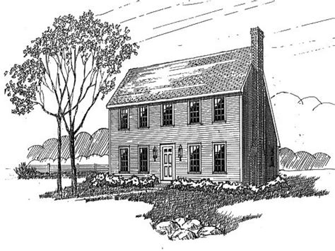colonial plans colonial saltbox home plans