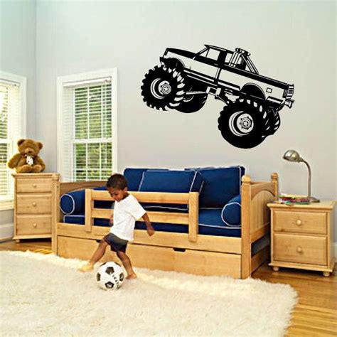 monster truck bedroom monster truck boys bedroom nursery kids vinyl wall