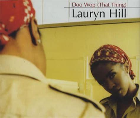 lauryn hill that thing doo wop that thing lauryn hill アルバム