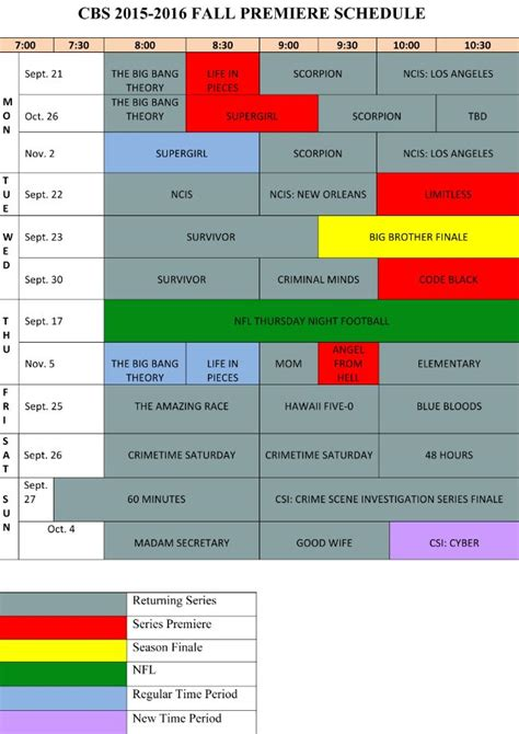 cbs announces fall premiere dates including an hour of big bang cbs announces fall premiere dates csi finale on