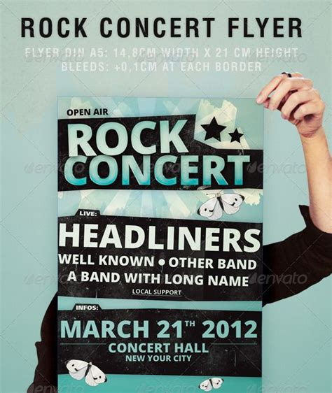 templates for concert flyers rock concert flyer party pops fonts and poster prints
