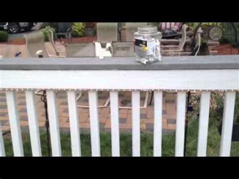 Backyard Christmas Decorations Diy Installing Lighting On Your Deck Youtube