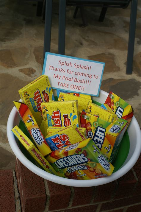 Pool Party Giveaways - party favors for pool beach party keeping it simple party ideas pinterest