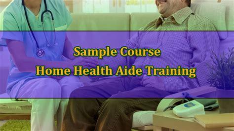 exle home health aide