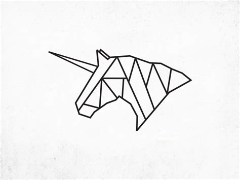Bar Designs For Home Origami Unicorn Logo Kaplar Designs