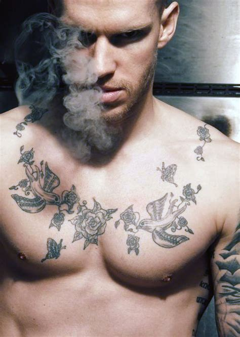 tattoo chest boy top 90 best chest tattoos for men manly designs and ideas