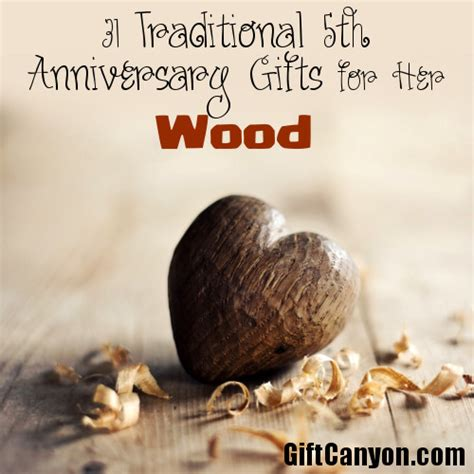 5th Wedding Anniversary Gifts Wood by Traditional 5th Wedding Anniversary Gifts For Wood