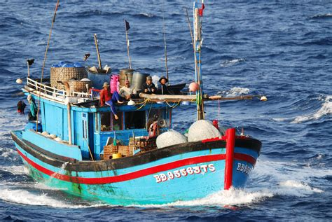 small fishing boat in the philippines scarborough shoal a chinese photo tour