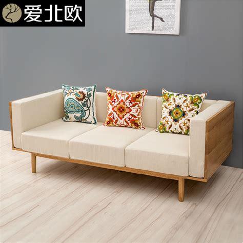 medium sized sofa japanese small and medium sized family cloth sofa
