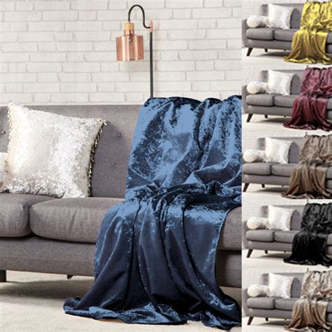 sofa throw overs uk crushed velvet soft throw sofa protector bed spread