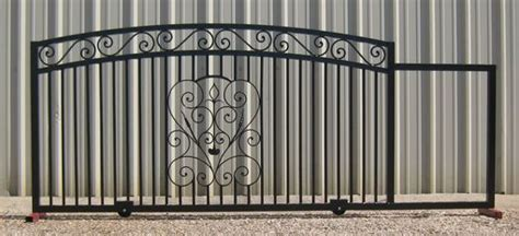 Hand Made Sliding Gates (Also Known As Rolling Gates) by ... Gates Of Heaven Design