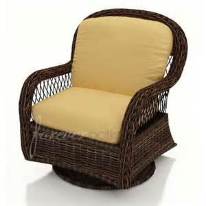 forever patio leona wicker swivel glider club chair
