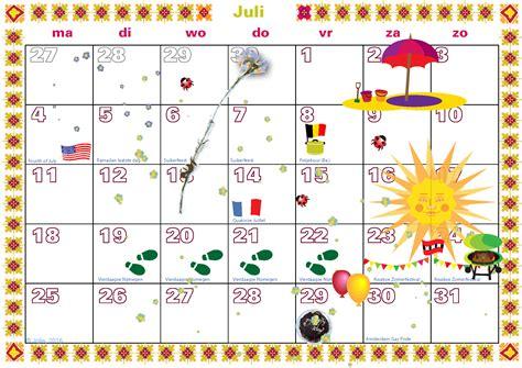 Kalender 2016 Juli S Weblog