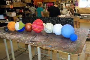 How To Make Paper Planets - paper mache venus planet pics about space