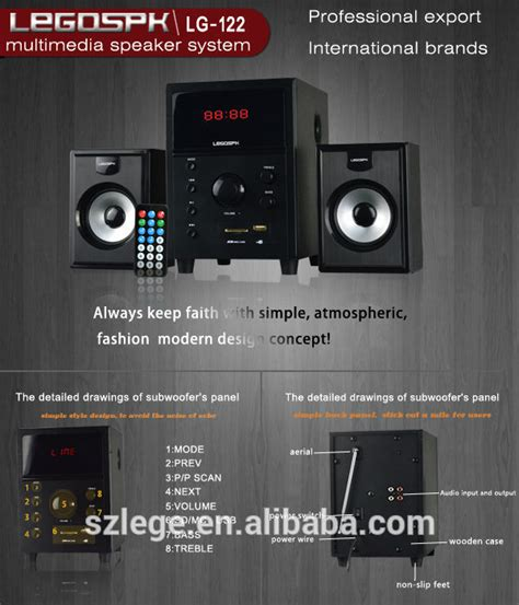 sell powered subwoofer speaker 2 1 multimeida home