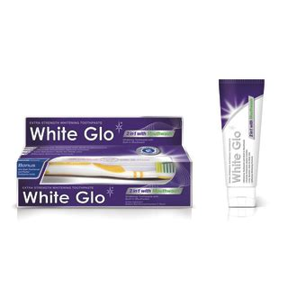 White White Toothpaste 150g white glo 2in1 whitening toothpaste with mouthwash 150g