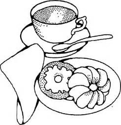 clipart kaffee und kuchen coffee and pastry clip at clker vector clip