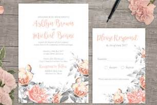 free wedding invite template printable rosa free floral wedding invitation printable